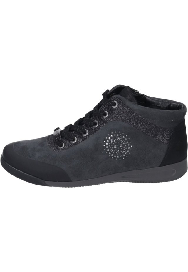 Sneaker high - schwarz/crow
