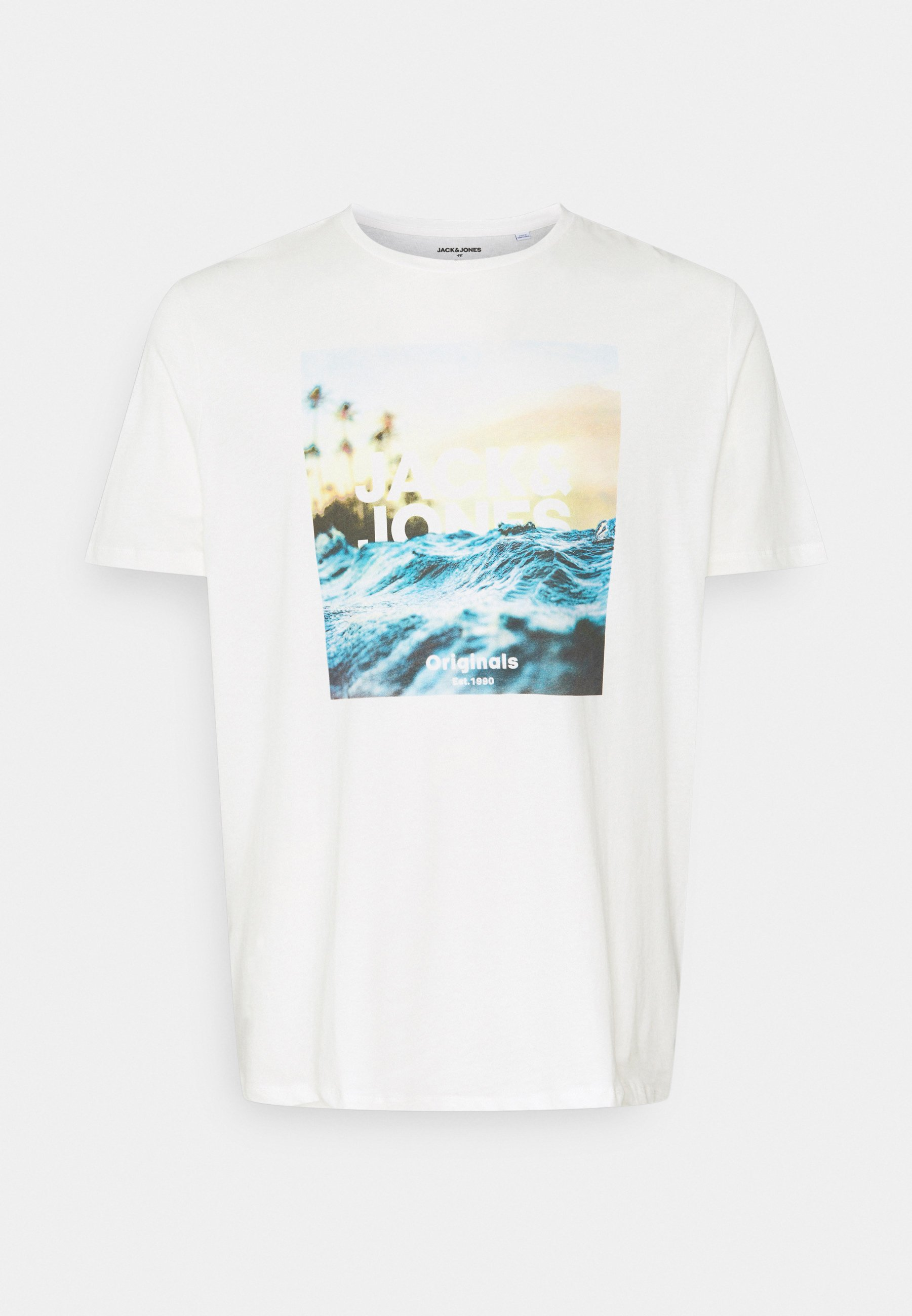 Homme JORAZURE TEE CREW NECK - T-shirt imprimé