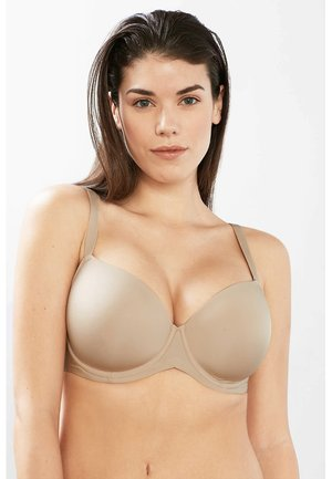 BROOME BIG CUP - T-skjorte-BH - dusty nude