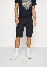 Schott - Cargo trousers - navy - 0