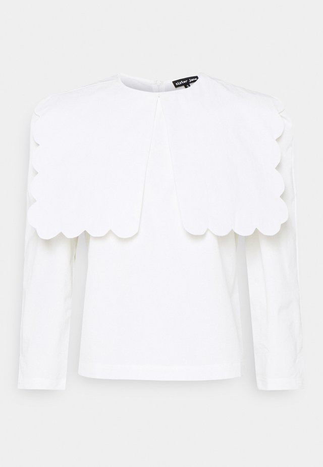 TOPSPOT EMBELLISHED BLOUSE - Camicetta - ivory