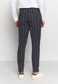 Gianni Lupo - PANTS - Oblekové kalhoty - blue - 2