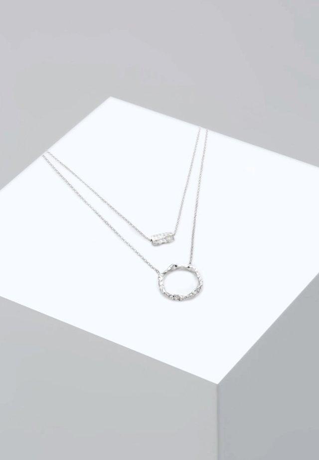 Kaulakoru - silver-coloured