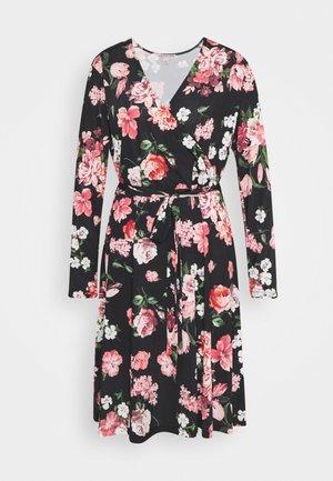 Day dress - black/pink