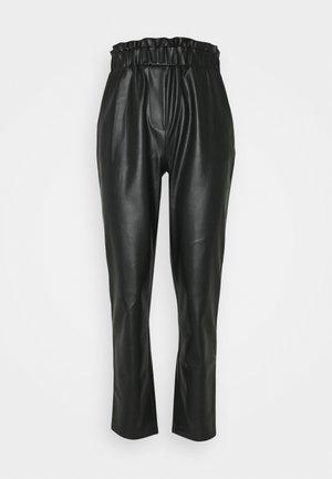 PCMELANY PANTS - Kalhoty - black