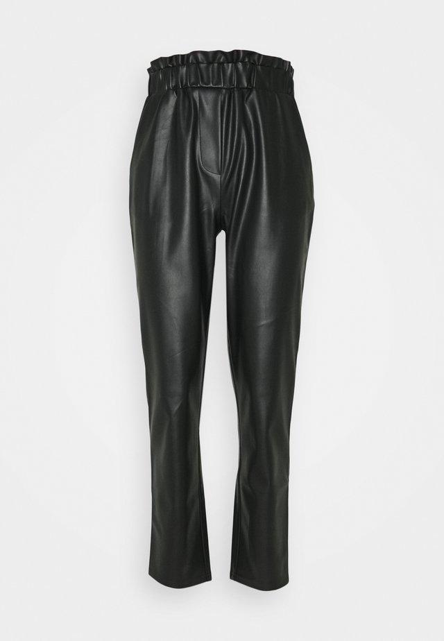 PCMELANY PANTS - Trousers - black