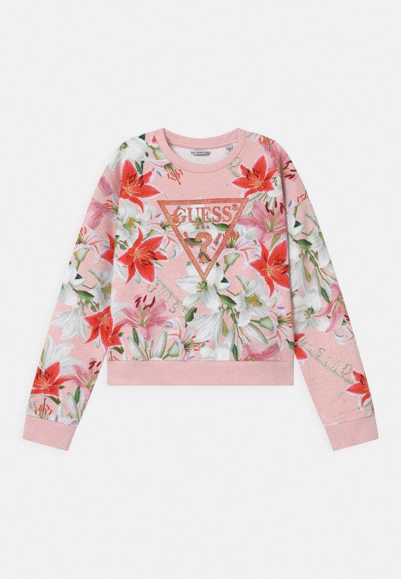 Guess - JUNIOR ACTIVE  - Sweatshirt - pink/red