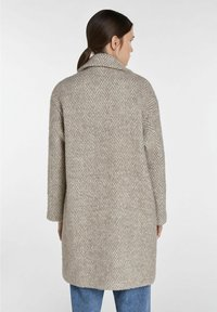 SET - Classic coat - offwhite brown - 2