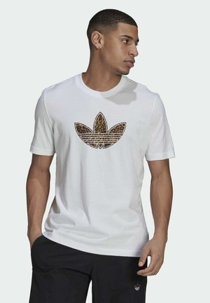 TREFOIL  - T-shirt med print - white