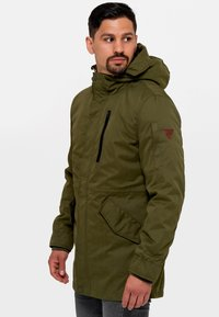 INDICODE JEANS - Parka - army - 3