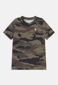 Abercrombie & Fitch - CREW 2 PACK - Camiseta estampada - grey - 2