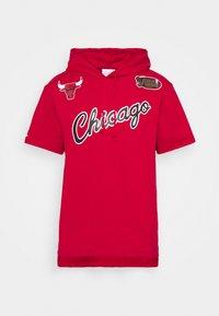 Mitchell & Ness - NBA CHICAGO BULLS GAMEDAY HOODY - Sweatshirt - red/scarlet - 5