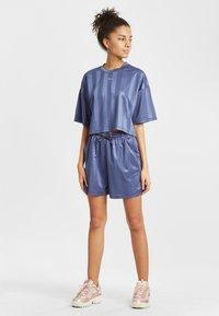 Fila - Print T-shirt - crown blue - 1