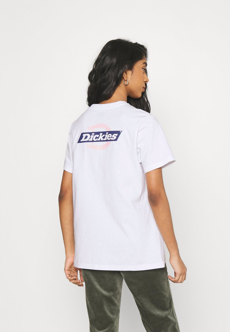 Dickies - RUSTON TEE - Print T-shirt - white