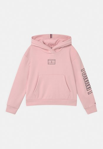 REFLECTIVE PRINT HOODIE - Sweatshirt - delicate pink