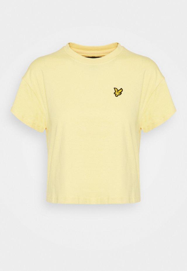 CROPPED - T-shirt basic - sun daze