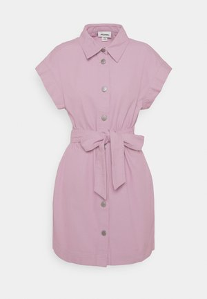 LINN DRESS - Shirt dress - lilac purple dusty light