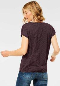Cecil - MIT SMOK  - Print T-shirt - lila - 1