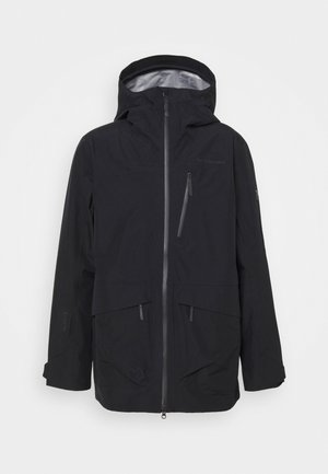 VERTICAL JACKET - Hardshelljacke - black
