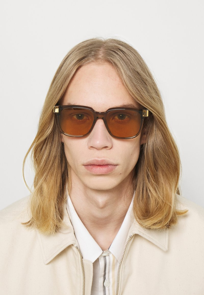 Dunhill - UNISEX - Sunglasses - brown/yellow