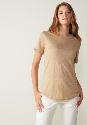 Basic T-shirt - hautfarben - 375i - natural beige