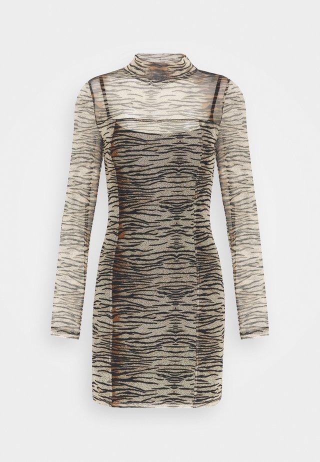 MINI ANIMAL - Korte jurk - brown