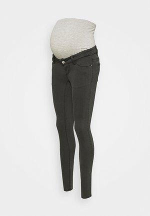 PCMDELLA - Jeans Skinny Fit - dark grey denim