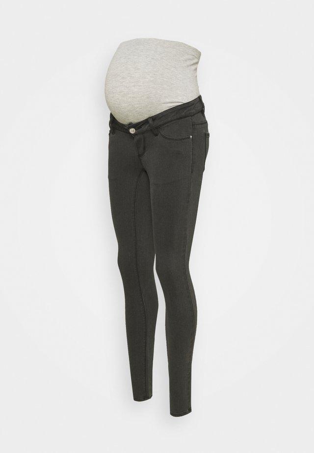PCMDELLA - Skinny džíny - dark grey denim