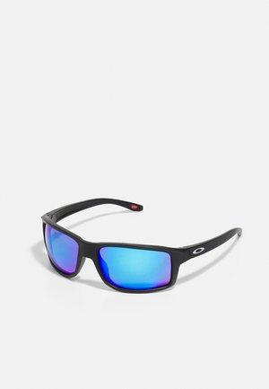 GIBSTON UNISEX - Sunglasses - matte black w/prizm sapphire polarized