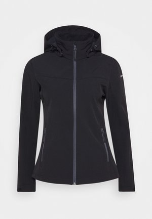 BOISE - Soft shell jacket - black