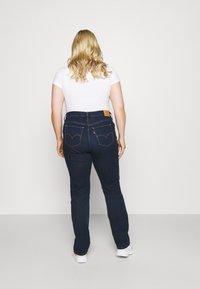 Levi's® Plus - 724 PL HR STRAIGHT - Straight leg jeans - dark blue denim - 2