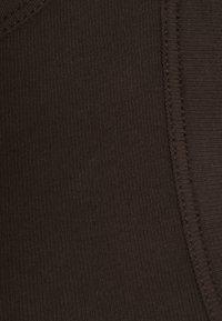 ARKET - Top - dark brown - 2