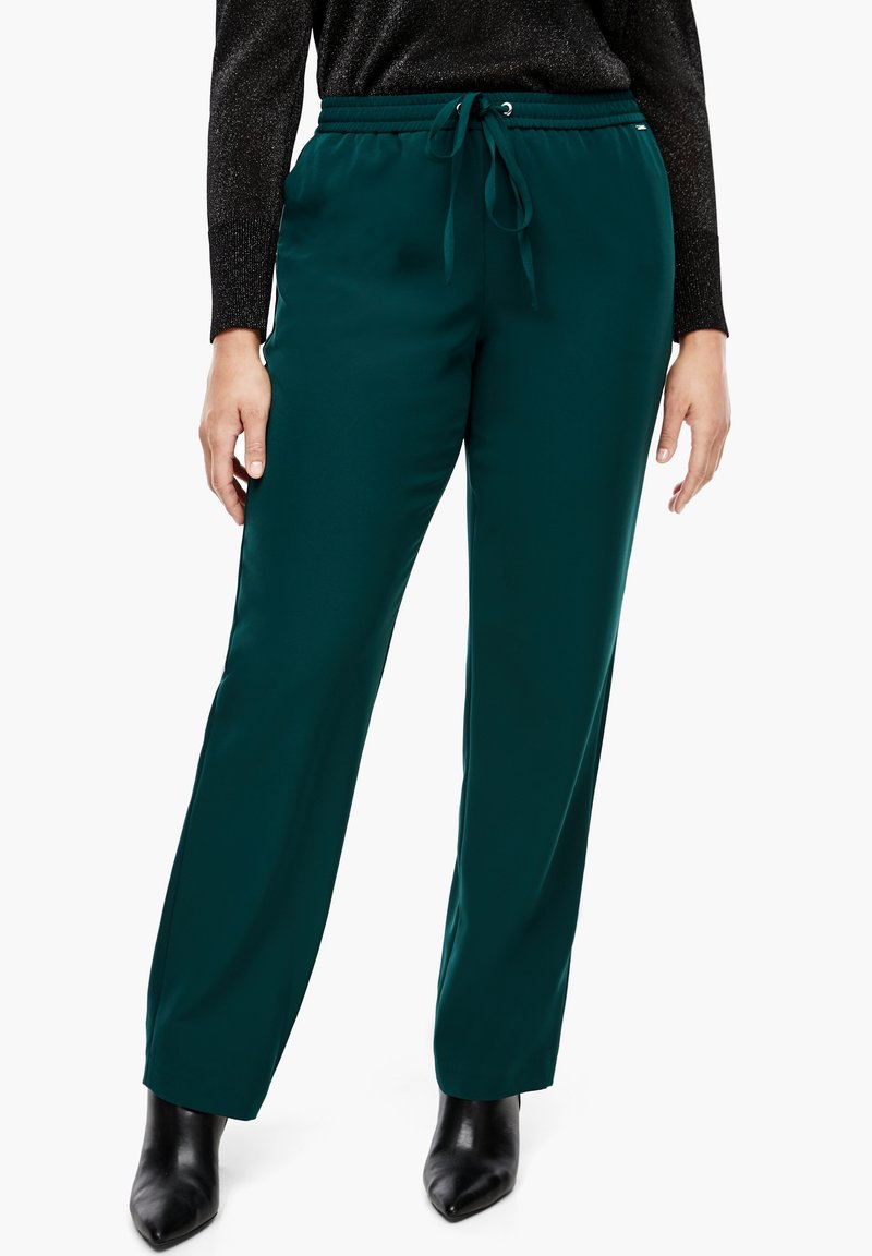 Triangle - REGULAR FIT - Trousers - emerald