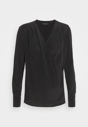 LILLIE EVENT BLOUSE - Blouse - black