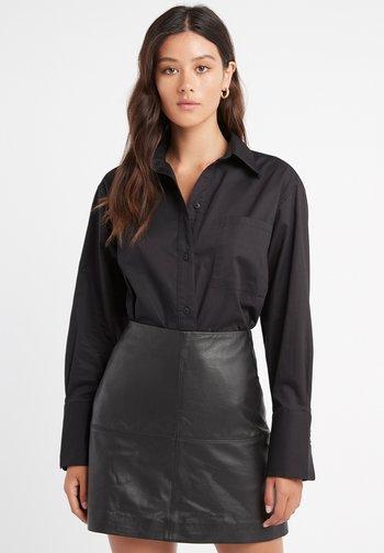 MONACO - Button-down blouse - z2-noir