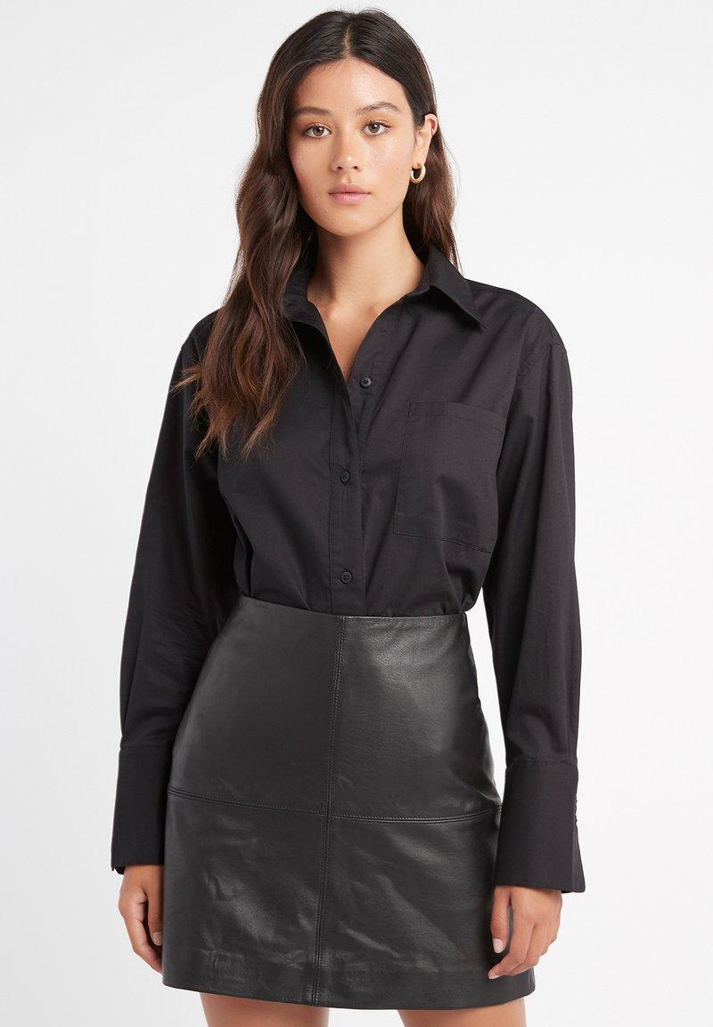 Kookai - MONACO - Button-down blouse - z2-noir