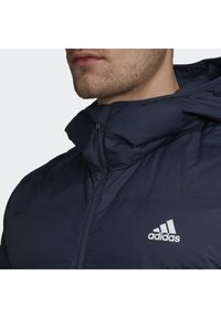 adidas Performance - HELIONIC OUTDOOR HOODED DOWN - Chaqueta de plumas - blue - 4