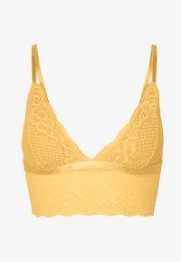 LISA BRALETTE - Triangle bra - yellow