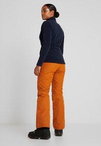 Wearcolour - FINE PANT - Skibukser - adobe - 2