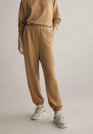 Teplákové kalhoty - ochre