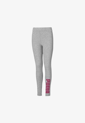 Tights - light gray heather-pink
