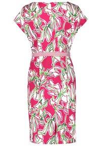Gerry Weber - Korte jurk - azalea weiß palm druck - 5