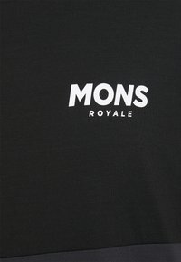 Mons Royale - TARN FREERIDE - T-Shirt print - black/iron - 2