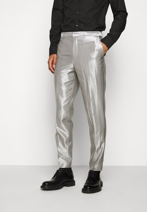 GERMAN - Suit trousers - natural