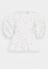 Monki - MELINA BLOUSE - Blouse - white - 4