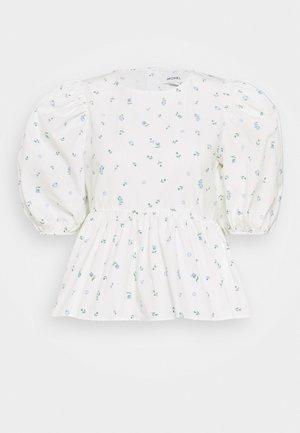 MELINA BLOUSE - Bluser - white