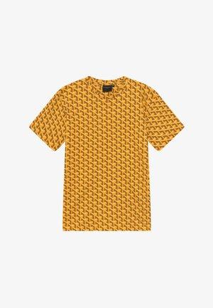 LOUVRE TEE - Print T-shirt - yellow
