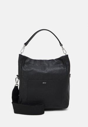 RAQUEL - Handbag - black/nickel