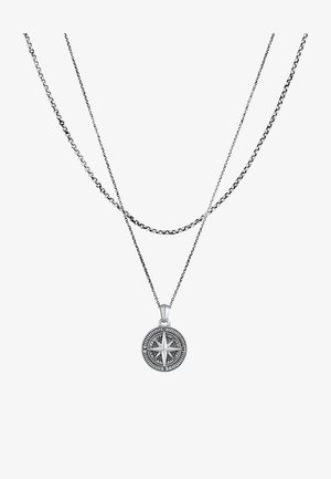 2-LAYERS - Collier - silber