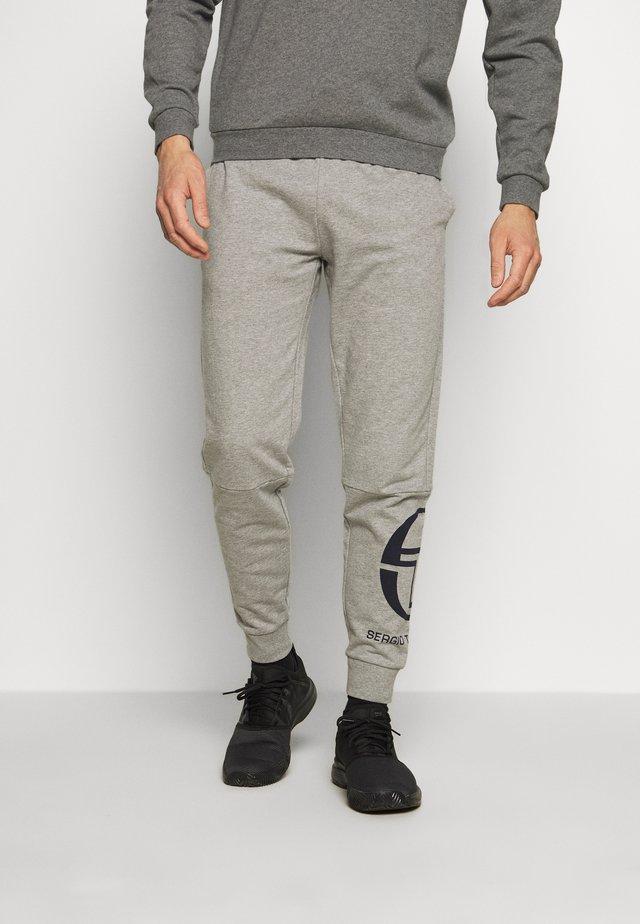CHALMERS PANTS - Spodnie treningowe - grey melange/navy